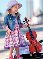 Wholesale fashion kids casual clothing set elegant female child denim jacket + flower dresses twinset new autumn kids clothes