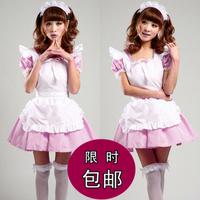 Free Shipping Cheap Akihabara Lolita maid anime cosplay clothed uniforms  costume Hallaoween dress