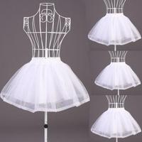 Free Shipping Cheap White costume dress puff skirt   petticoat