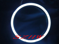 70mm external diameter, 2pcs, Super bright waterproof LED angel eyes rings, COB lens, Q5 Hella, big lamp, Car Decorative Lights