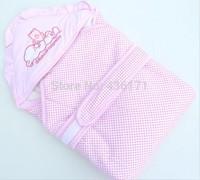 2013 Hot Free shipping newborn kids baby blanket boy&girl toddler cartoon bear sleeping bag New Arrival  blanket