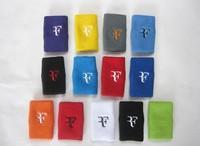 Free shipping(12pcs/lot)F/Roger Federer Wristband/tennis racket/tennis racquet
