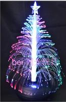 New year decoration fiber optic light decoration fiber optic 52cm christmas tree battery fiber optic decoration lamp  =sdZ3