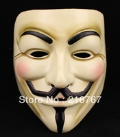 V vendetta team guy fawkes masquerade Halloween carnival Mask free shipping