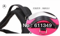 NEW Free Shipping Pet Products Dog Harnesses Sportsdog Nylon Velcro Collars Comfortable Vest Strap for Husky Black Small