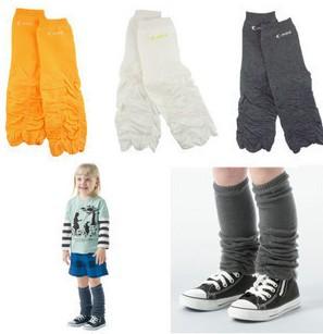 Fashion comfortable toddler kids plain knee pad stocking children baby boys girls Leg Warmers 12pair/lot mix order Free Shipping(China (Mainland))