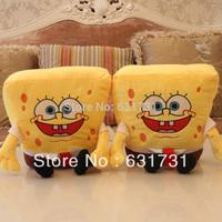 2014 China Best Quality Kid Toys 1PCS 40CM Funny Plush Doll Spongebob Soft Protection Stuffed Doll Spongebob Good Gift For Child