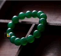 Jewelry accessories green agate bracelet tempting to send mom soothe the nerves beauty