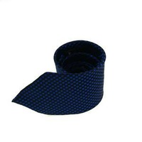 2013 New Free Shiping Luxury Fashion  Blue wave point Men's Classical Plain Slim Narrow Arrow Necktie Tie T1049 T72#12