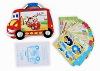 Kmc early childhood learning machine car card pre-teaching baby learning machine young children point and read machine