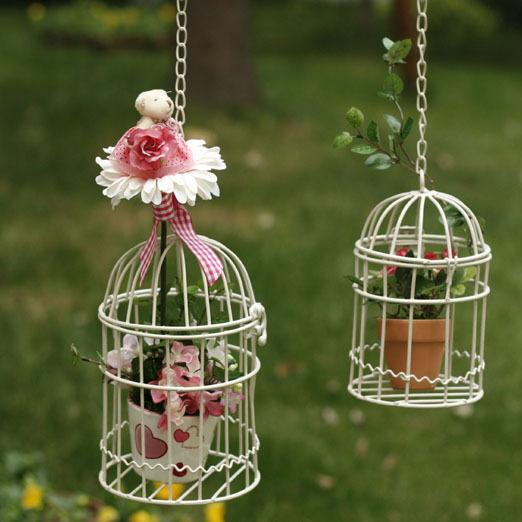 Как сделать декоративную клетку для птиц