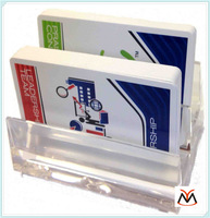 Acrylic Display Card Holder