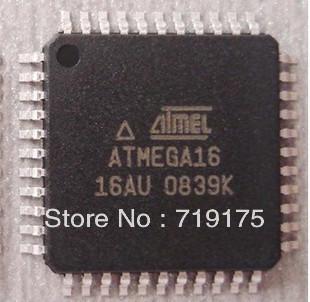Free Shipping 30pcs/lot ATMEGA16-16AU ATMEGA16 ATMEL QFP-44 NEW IC(China (Mainland))