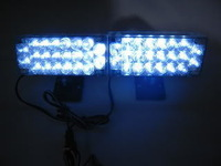 Free shipping New 2x22LED White Strobe Flash Grill Light Emergency Bright Brand auto