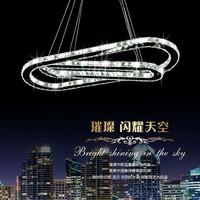free shipping Crystal pendant light led living room lamp restaurant lamp brief pendant light lighting