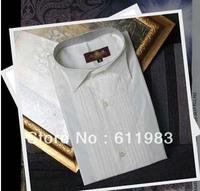 Wholesale - Top Quality Men's Wedding Apparel Groom Wear Shirts,bridegroom groomsmen shirts