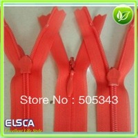 50pcs/lot 25cm/9.84inches #3 Invisible Zipper  Close-end Zippers & Puller for Tailor Sewer Craft Bag Clothes DIY