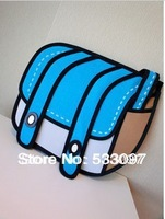 The 3D Cartoon Bag, Handbag Day Clutches shoulder bag Free shipping 3d handbag 3d gismo bag