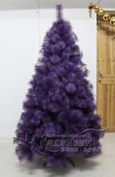 Christmas encryption pine tree 1.5 meters purple pine christmas tree Christmas decoration supplies  =sd1.5-2