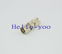 Free shipping (5 pieces/lot) Wholesale MINI UHF adapter UHF male plug to UHF male plug coax connector adapter