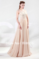 GK Fast Delivery! Sexy Full Length Chiffon Ball Elegant Prom Party Gown Evening Dresses CL4473