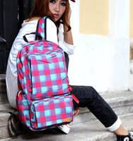Candy preppy style backpack middle school students school bag large capacity
