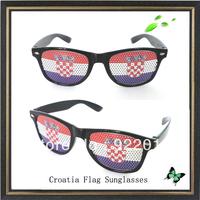Croatia Flag sunglasses promotion sticker sunglasses LOGO sunglasses Removable stickerasses sungl Promotional sunglasses