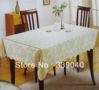 Printed PVC table cloth damask table runners wedding table skirt ptable  table coversfor weddings linen table Free shipping