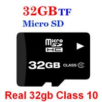 Free shipping  MicroSD 8GB 16GB 32GB  class 10 Micro SD mini sd Memory Card, TF card with free Adapter