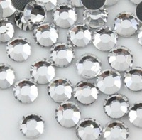 400X144PCS (400Gross) SS10 3mm China AA TWO CUT Hot Fix Crystals Rhinestones Crystal Clear Color 10SS Hotfix Crystals Stone