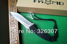 FOX ring tail cutter knife Fox Killer D2 steel small straight knife 61 hardness signed version