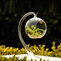 Fashion vase crystal transparent glass vase windowsillxia desktop decoration technology glass & crystal