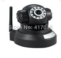 Wireless 720P HD PTZ  IP Camera WIFI H.264  Indoor  Nightvision Lens  IR CUT  Robot Security camera