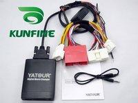 Cheap Shipping! Car digital music transmitter with USB/SD/MMC/SDHC Slot-KF-M06-NewMazda +1year warranty
