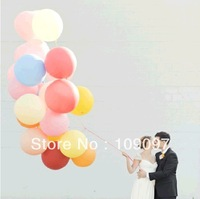 Free Shipping 50 Pcs/Lot 18 Inches Multicolor  Balloon Birthday Party Decorations Kids Latex Balloons Large
