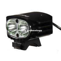 KINFIRE Black US Plug A20 1300LM CREE T6 LED Ultra Bright 5-mode Portable Headlamp Bicycle Light and Headlight