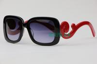 Box the sun glasses elegant brief women's sunglasses vintage spr270s gradient  designer sunglasses wholesale