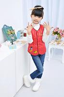 Boy and Girl Vest  children Down Vest Lover Down Vest Coat Multi-color Sleeveless Waistcoat Jacket 90% White Duck Down coat tops