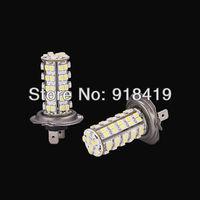2X H7 68 LED 3528 SMD BLANC Xenon Brouillard Phare Ampoule Lampe Pour VOITURE #F