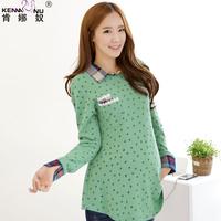 2013 maternity clothing autumn fashion elastic adjustable maternity sweater top t-shirt
