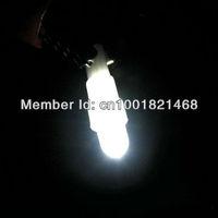 100X Car T5 37 58 70 73 74 White Gauge Dashboard Wedge LED Light Lamp Bulb 12V