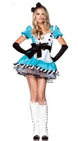Free shipping Princess Snow White dress maid service maid service Charming Alice Costume Uniform 02A001108