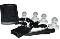 Solar lights indoor lighting lamp led solar lamp garden lights outdoor lamp Solar Panel with 4 LED Lamps