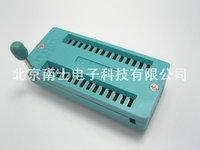 28p lock socket ic seat 28pic test block mcu chip base high temperature resistance
