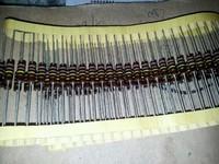 Solid solid resistance ab color ring resistors 0.5w 18k , 51k , 68k , 110k , 120k , 150k ,