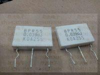 Koa twin metal plate none sense of resistance bpr55 0.039r times . 2 resistor