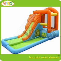 Inflatable water slide,water slide with pool,inflatable water slide splash