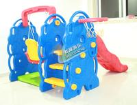 Indoor child infant circleof preschool slide swing combination amusement toy