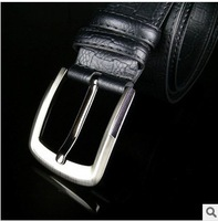 Free shipping new men's casual leather leather pin buckle belt PD301