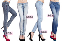 2013 New brand DEEI 2013 women jeans women casual trousers pencil trousers pant A801 high quality free shipping